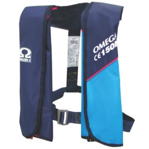 Φουσκωτό Σωσίβιο Οmega Μπλε 150N
