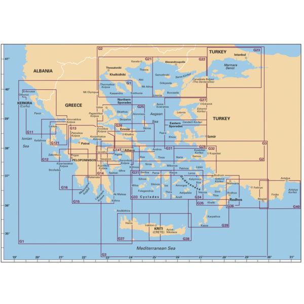 Πλοηγικός Χάρτης Ελλάδος