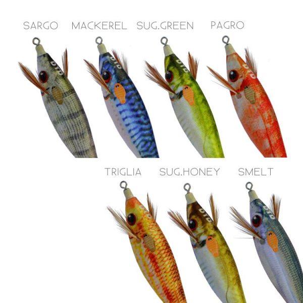 Καλαμαριέρα DTD Real Fish Bukva