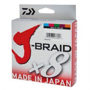 Daiwa J-Braid x8 Πολύχρωμο 300m