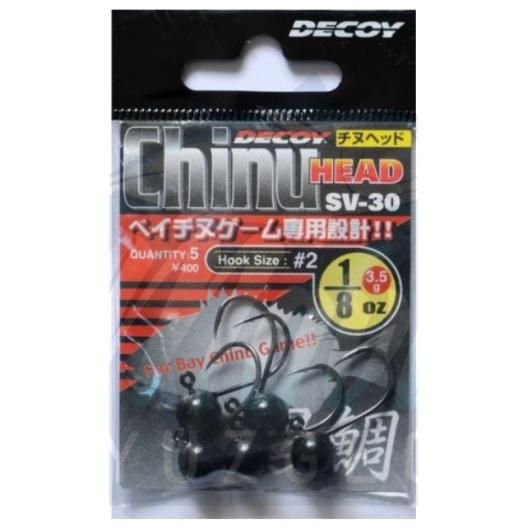 Jighead Decoy SV-30 Chinu Head