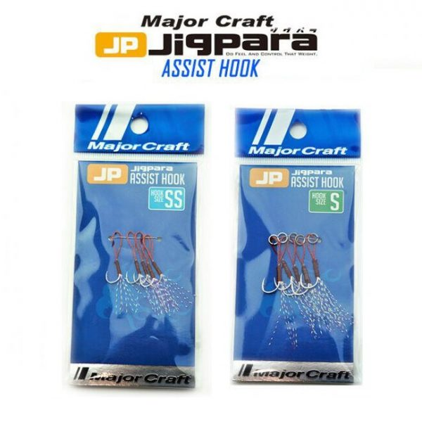 Major Craft Jigpara Assist Hooks