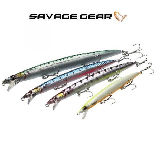 Τεχνητό Savage Gear Sandeel Jerk Minnow 145
