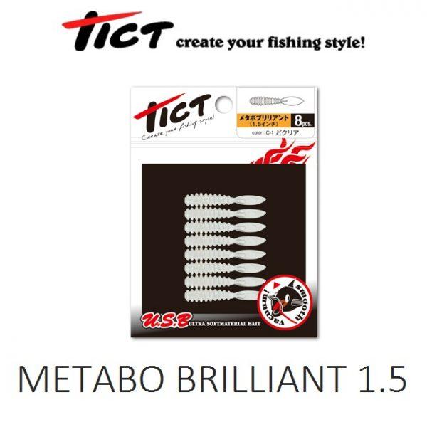 Σιλικόνες Tict Metabo Brilliant 1.5