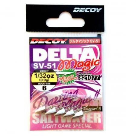 Jighead Decoy SV-51 Delta Magic