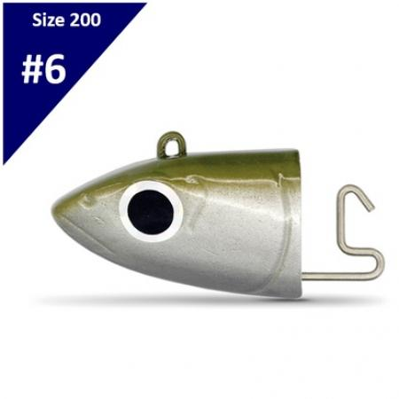 Fiiish Black Minnow Jighead No6 Offshore 120gr