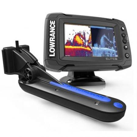 Lowrance Elite-7 Ti + Total Scan