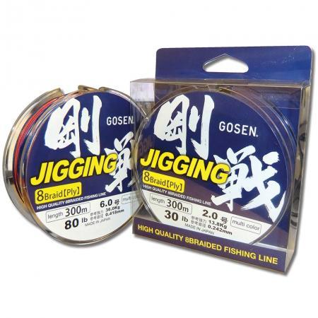 Νήμα Gosen Jigging Ω8 Πολύχρωμο