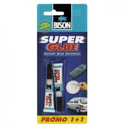 Κόλλα Στιγμής Bison 3gr 1+1 δωρεάν