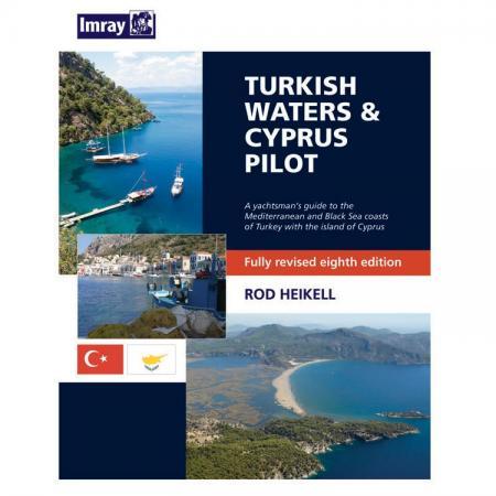 Πλοηγικός Οδηγός Μεσογείου Imray Τουρκία και Κύπρος