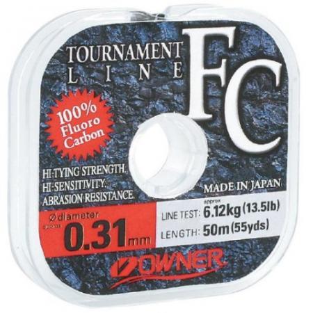 Owner FC Tournament Line Fluorocarbon