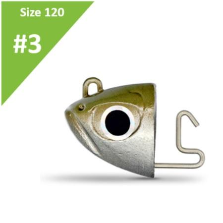 Fiiish Black Minnow Jighead No3 Shore 12gr